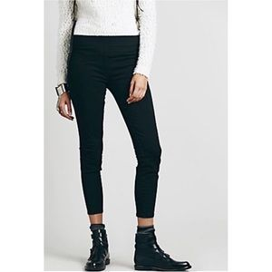 Free People Pull On High Rise Ankle Skinny Jean